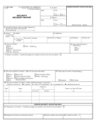 Incident Report Sample Format Enchanting Security Incident Report Template Best Of Project Plan R Information