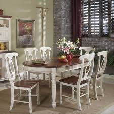 aamerica british isles buttermilk oval leg table and chairs