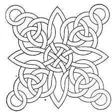 Small Picture Free Geometric Coloring Pages For Adults fablesfromthefriendscom