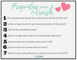 60 Preguntas Para Tu Crush Hot Graciosas E Interesantes