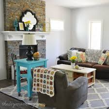 rustic glam farmhouse living room the diy mommy