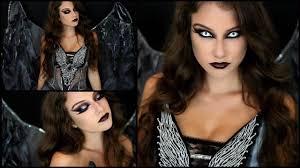 how to apply angel makeup dark angel halloween makeup costume
