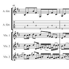 pachelbel canon violin sheet music pachelbels canon celtic violin and guitar sheet music celtic