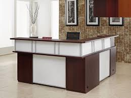 corner desk home office furniture wall ideas photography for cool l shaped reception desk jpg design ideas