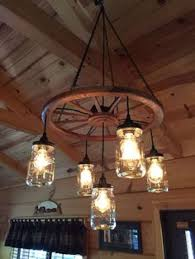 cool wagon wheel chandelier for antique wooden with regard to idea 18