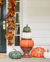 Harvest & Thanksgiving Dcor. Outdoor Heirloom Pumpkins by Balsam Hill
