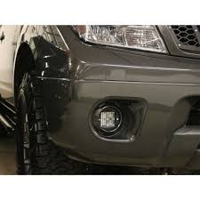 Rigid Fog Lights Rigid Industries Frontier Fog Light Mount Kit 09 15 Nissan Frontier Includes 2 Sae D Series Lights