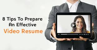 Video Resume Amazing 28 Tips To Prepare An Effective Video Resume Buddingin