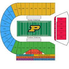 Hawkeye Football Seating Chart Ross Ade Stadium Seating Chart Bedowntowndaytona Com