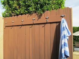 outdoor towel rack wall mounted