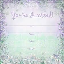 printable party invitations enchanted garden summer party summer party invite templates