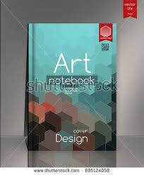 modern vector abstract book cover