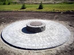 circular paver patio kits ideas
