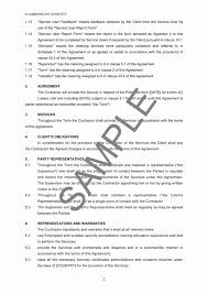 Sample Cleaning Contract Agreement Cleaning Service Agreement Provision Of Services Agreement Template
