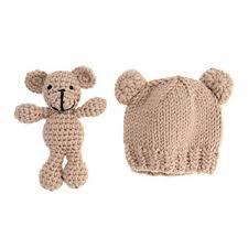 <b>Newborn Photography Props Cute</b> Knitted Hat Boys Girls Photo ...