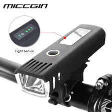 Bike Light Sensor Hot Sale Miccgin Bike Sensor Battery Display Led Bicycle
