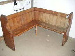 furniture for corner space. rustic simple wooden corner bench seating for diy furniture space