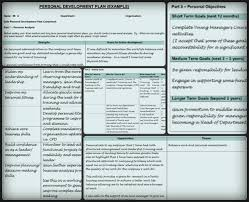 Personal Planner Template Personal Development Plan Template 9 Free Samples In Pdf