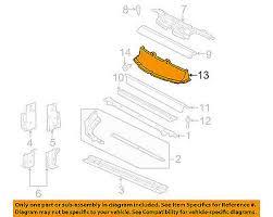 99 pontiac sunfire engine cradle pontiac gm 95 99 sunfire radiator support baffle 2