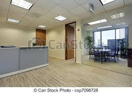 office reception. Reception Area In Office - Csp7098728