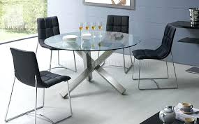round dining table metal base stylish decoration glass top reclaimed wood