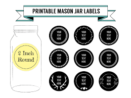 printable labels for mason jars printable diy chalkboard mason jar labels canning labels 9