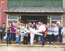 Grand opening, ribbon cutting held at Main street shop Friday - News -  Booneville Democrat - Booneville, AR