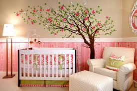 Baby Room Decoration Wallpaper Enchanting Baby Nursery Decor Interior  Patterned Baby Nursery Wallpaper . Design Decoration