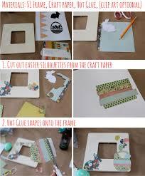 Easy DIY Easter Frame for 1 dollar - SohoSonnet Creative Living