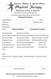 Occupational Therapy Referral Form Template Referral Pad Samples ...