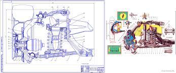 Курсовые и дипломные работы автомобили расчет устройство  Курсовой проект Устройство конструкция и ремонт подвески ВАЗ 2121