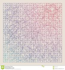 Vintage Color Graph Paper Background Stock Vector