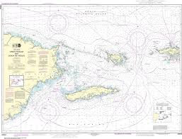 How To Read Navigation Charts Noaa Nautical Chart 25650 Virgin Passage And Sonda De Vieques
