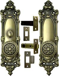 vine door set interior tubular privacy lock lockset