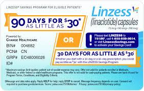 saving on linzess
