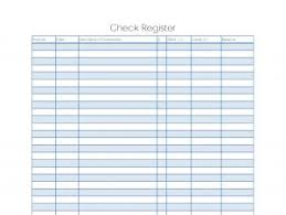 check register check register template template business