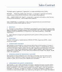 General Sales Agreement Template Myexampleinc