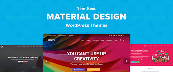 Design Themes Top 6 Best Material Design Wordpress Themes For 2018