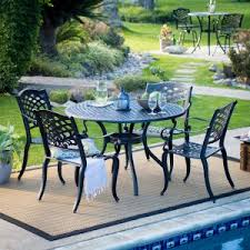 round patio. Belham Living Sorrento Collection Round Patio Dining Set U