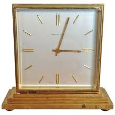 co bronze 2 sided partners clock serviced for outdoor train station double thermometer id f