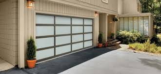 full view garage doors contemporary elegance