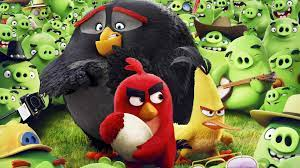 Wallpaper Angry Birds Movie, chuck, red, bomb, Best Animation Movies of  2016, Movies #10731