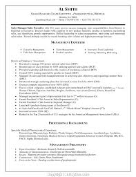 Cover Letter Executive Sample Resume Regional Sales Manager Pharma