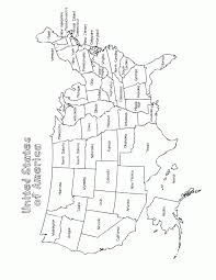 Small Picture Blank Us Map Color Map Of The Usa Coloring Pages Hellokidscom