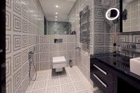 Apartment Therapy Bathrooms Double White Marmer Sink Apartment Therapy Small Bathroom Black