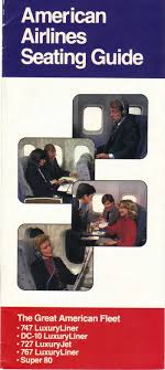 Aa Seating Guide Airline Seating Charts Commercial Ads