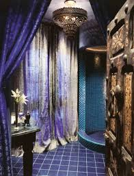 morrocan style lighting. Bathroom With Blue And Purple Tiles Also Moroccan Lighting : Style  Can Add A Morrocan Style Lighting G