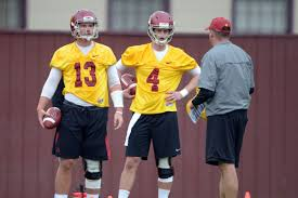 Usc Football Roster 2013 Depth Chart 2013 Usc Spring Game Tv Schedule Roster Battles And More