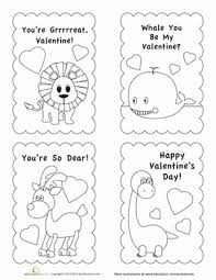 Free printable religious valentine cards for kids for st. Valentine Card Template Worksheet Education Com Valentine Card Template Valentines Day Coloring Page Valentine Coloring Pages