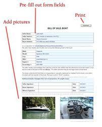 Standard Bill Of Sale For Boat Standard Bill Of Sale For Boat Jasonwang Co